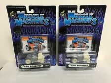 Lot of 2 ~ '32 Roadster ( RAW No Paint LIMITED EDITION ) Muscle Machines 1:64