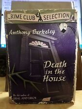 Death in the House Anthony Berkeley HB 1939 Crime Club First Edition Dust Jacket