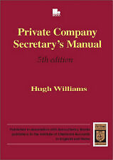 Private Company Secretary's Manual, Williams, H. M.