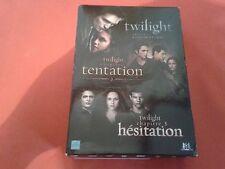TWILIGHT CHAPITRE 1 2 ET 3 COFFRET 3 DVD COMPLET