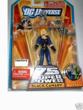 DC Universe Infinite Heroes_BLACK CANARY with BLUE JACKET & Collector Button_MIP