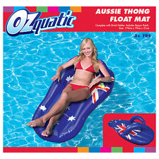 NEW Ozquatic Thong Aussie Age 3+ 170cm x 79cm Inflatable Float
