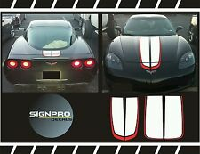 Corvette Chevrolet Racing Stripes Rally Stripes Decal Kit 1997-04 Many Colors