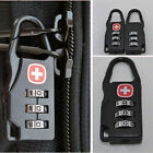 High 3 Digit Mini code Metal Combination Travel Luggage Lock Padlock Password FE