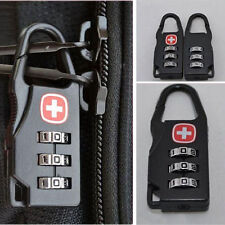 NEW  3 Digit Mini code Metal Combination Trip  Luggage Lock Padlock Password
