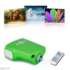 Mini Portable LED HD 3D Projector 1080P Multimedia Home Theater VGA USB HDMI