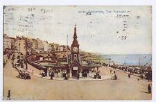 Brighton, Sussex, England vintage Postcard - The Aquarium - 1923