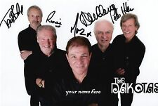 "Personalised hand signed photo of ""The Dakotas"" 60s band today"