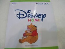 Brother Disney Embroidery Card - Winnie The Pooh OOP,Rare