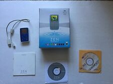 Creative Zen Micro*Bundle*8M* MP3 Player*Complete With Manual, & Original Box