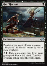 MTG 2x GRAF HARVEST - RACCOLTO DEL CIMITERO - EMN - MAGIC