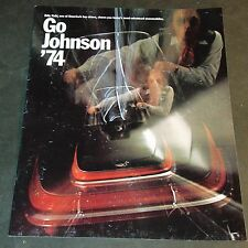1974 JOHNSON SNOWMOBILE SALES BROCHURE 16 PAGE ++  (803