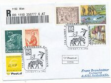 Reco-Brief aus 1150 Wien mit 0,07 Ergänzungsmarke   (C28)