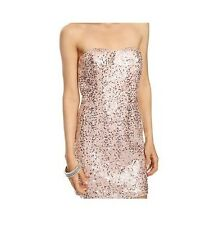 Forever 21 Women's Sequins Mesh Cocktail Dress Party  Size S