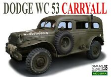Dodge Wc 53 Carryall 1/35 Accura (resin Kit)