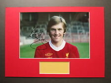 LIVERPOOL LEGEND KENNY DALGLISH RARE HAND SIGNED A3 MOUNTED PHOTO DISPLAY - COA