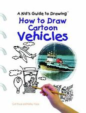 How to Draw Cartoon Vehicles (Kid's Guide to Drawing)-ExLibrary