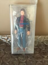 "Knight Rider Michael Knight 6"" Action Figure - 1982 AFA 85 In Sealed Kenner Bag!"