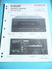 Service Manual Kenwood B-B5/B7 Amplifier/Equalizer,ORIG