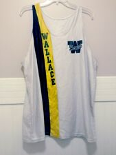 Vtg Lew Wallace High School Lady Hornets Jersey XL Women Gold Black White Girls