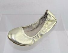 Women's Aldo Gold Leather Flats Size 7 M New