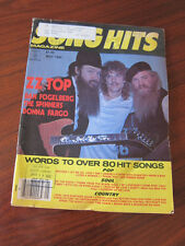 Song Hits 7/80 ZZ Top