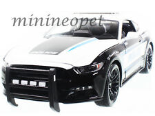 MAISTO 2015 FORD MUSTANG GT 5.0 #13 1/18 DIECAST MODEL POLICE CAR BLACK WHITE