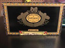 Flor De Tabacos De Partagas 1845 Black Label Cigar Box