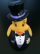 Squeaky Groom Rubber Duck Bathroom Toy Collectible