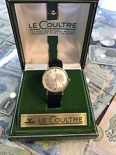 LeCoultre Master Mariner Vintage 14k Automatic Swiss Watch