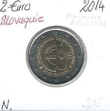 2 Euros - SLOVAQUIE - 2014 // Qualité: Neuve (Entrée UE)