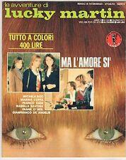 fotoromanzo LE AVVENTURE DI LUCKY MARTIN ANNO 1977 NUMERO 105 COFFA ROC SAVONA