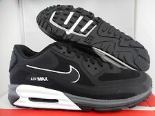 NIKE AIR MAX LUNAR90 LUNAR 90 BLACK-WHITE SZ 14 [705302-001]