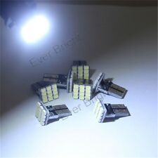 50X Cold White T10 1206 12 SMD 12 leds Car Show Wide Light Map Reading Lamp Bulb
