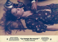 ANNA KARINA LE TEMPS DE MOURIR  1970 VINTAGE PHOTO LOBBY CARD