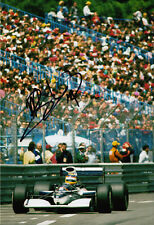 Mark Blundell Hand Signed Motor Racing Developments Photo 12x8.