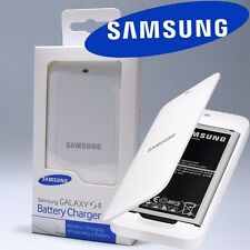 New Original Desktop Dock USB Battery Charger White For Samsung Galaxy S5 i9600