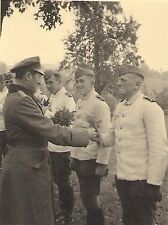 WWII German RP- Army Soldier- Officer- White Uniform- Special Ceremony- 1940s