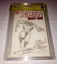 X-MEN #1 BLANK COVER ORIGINAL ART SKETCH BY HERB TRIMPE HULK 181 Pin Up