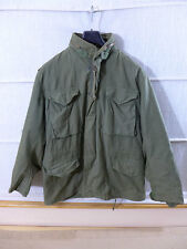 1979 us army vietnam m65 Coat cold weather Field Jacket veste de champ Olive Med. * 3