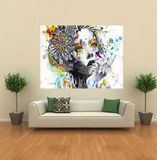 Abstract Lady woman minjae lee Painting GIANT WALL POSTER ART PRINT A172