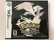 Pokemon Black - Nintendo DS - Replacement Case - No Game