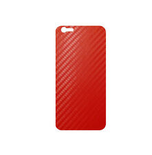 "707 Skins BACK Wrap For Apple iPhone 7 4.7"" Cover Decal Sticker - RED CARBON"