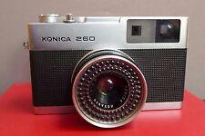 KONICA 260 CAMERA WITH HEXANON 2.8 LENS-RARE