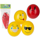 "Kids 8"" Inflatable Fruity Smell Scented Emoji Icons Smiley Rubber Foot Ball"