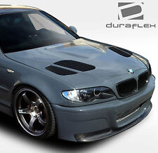 Duraflex GTR Hood 1 Pc for 02-05 BMW 3 Ser E46 4DR 108631