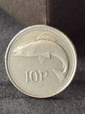 Ireland /Eire 10p pre Euro ten pence coin. Free uk  p&p