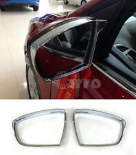 Chrome Door Rearview Mirrors Rain brow Cover trim for Ford Escape Kuga 2013-2016