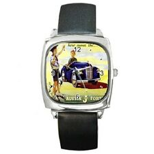 AUSTIN JUNIOR J40 PEDAL CAR VINTAGE POSTER REPRO WRISTWATCH **JUST ADDED**