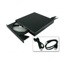 New Super Slim USB 2.0 24x External CD CD-ROM Drive  all for PC/Notebook  Black